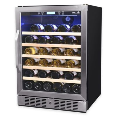 NewAir AWR-520SB 52-Bottle Built-In Compressor Wine Cooler