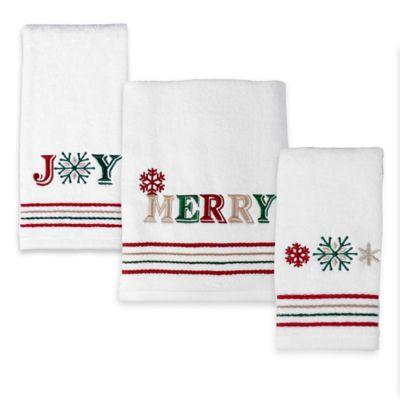 Holiday Bath Towel