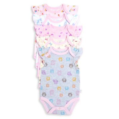 Rosie Pope® Love Bug Size 0-3M 5-Pack Bodysuits