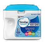 Similac® Advance® 1.45 lb. Non-GMO Powder Infant Formula with Iron
