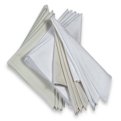 Arlington 100% Cotton Napkins in Ivory (Set of 6)