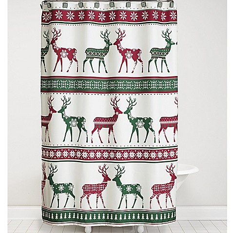 Nordic Shower Curtain And Fashion Hook Set Bed Bath Beyond