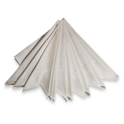 Buy 100 Cotton Napkins In White Set Of 4 From Bed Bath