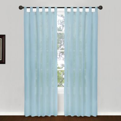 Park B. Smith® Cottage House 84-Inch Tab Top Window Curtain Panel in Linen