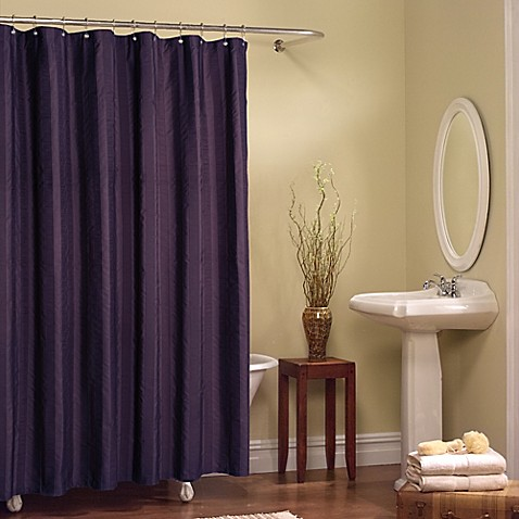 chadwell shower curtain in purple bed bath beyond. Black Bedroom Furniture Sets. Home Design Ideas