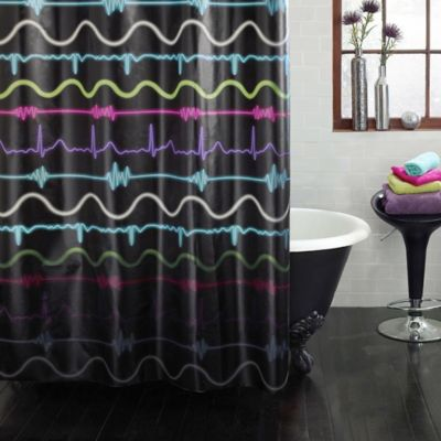 Pulse PEVA Shower Curtain