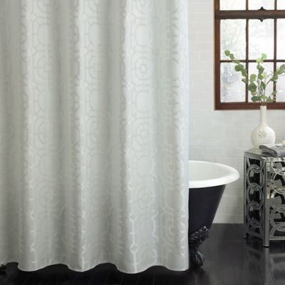 Excell Palmetto Polyester Shower Curtain