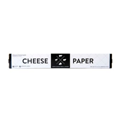 Formaticum Cheese Storage Sheets with Adhesive Labels (Set of 15)