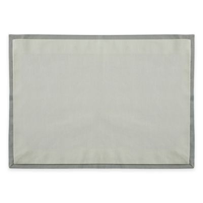 Wamsutta® Bordered Linen Placemat in Sage
