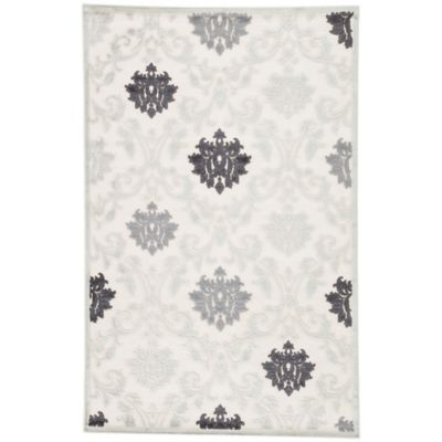 Jaipur Fables Glamorous 7-Foot 6-Inch x 9-Foot 6-Inch Area Rug in Blue