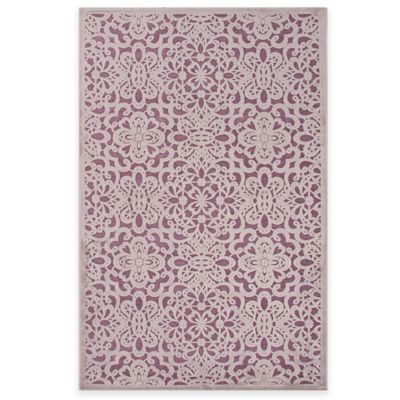 Jaipur Fables Lacie 7-Foot 6-Inch x 9-Foot 6-Inch Area Rug in Purple