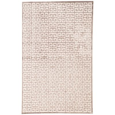 Jaipur Fables Greek 2-Foot x 3-Foot Area Rug in Ivory/Grey