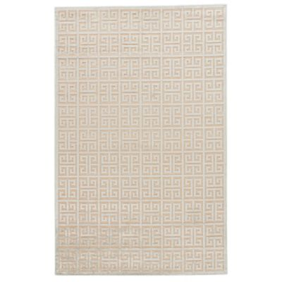 Jaipur Fables Greek 7-Foot 6-Inch x 9-Foot 6-Inch Area Rug in Ivory/Grey