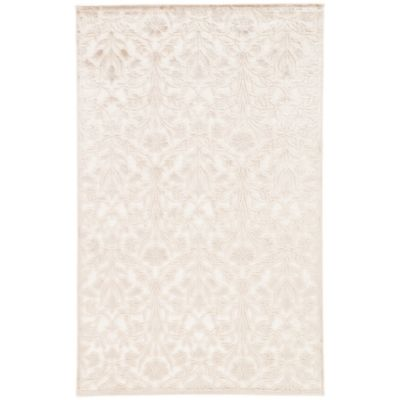 Jaipur Fables Serene Area Rug in Ivory/Tan