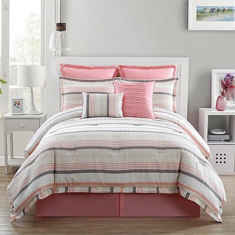 Clairebella baja comforter set in cream bed bath beyond for Clairebella
