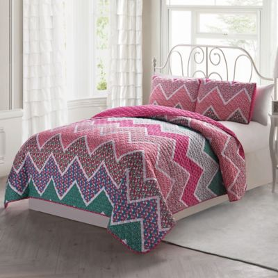 Marion Reversible Twin Quilt Set