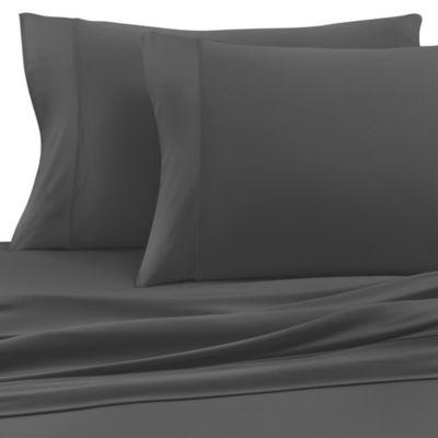 SHEEX® Pro Cotton California King Sheet Set in Grey