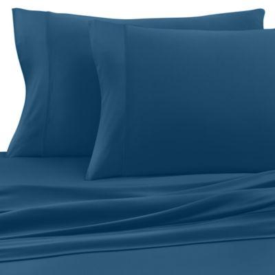 SHEEX® Pro Cotton California King Sheet Set in Turquoise