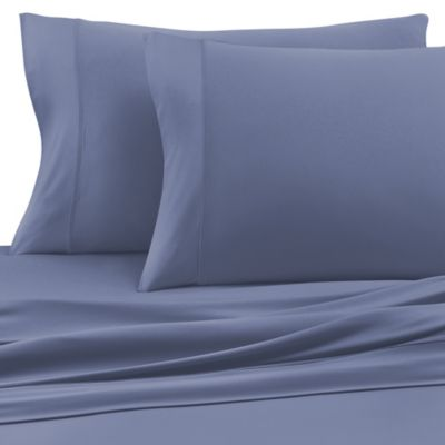 SHEEX® Pro Cotton California King Sheet Set in Denim