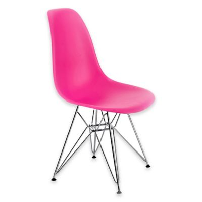 American Atelier Banks Dining Chair in Dark Pink