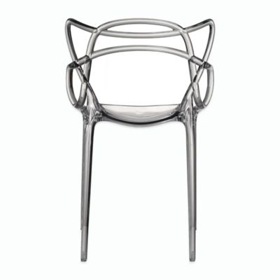 American Atelier Crawford Side Chair in Clear