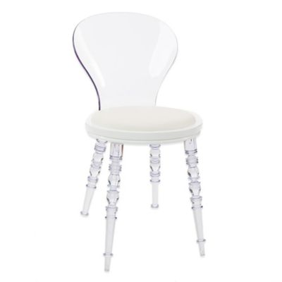 American Atelier Wynona Side Chair in White