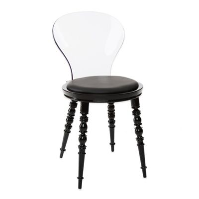 American Atelier Wynona Side Chair in Black