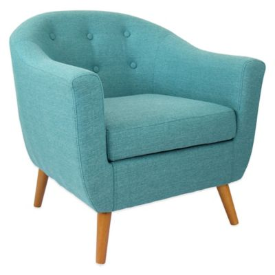 LumiSource Rockwell Chair in Teal