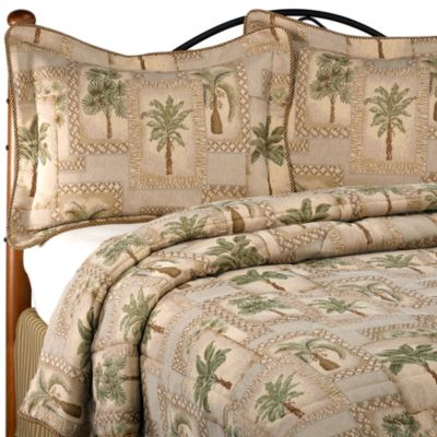 Palm Tree Comforter Set Queen