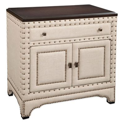 Bassett Mirror Company Hampton Commode in Linen