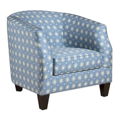 Tracy Porter® Cain Accent Chair in Bohemia Sapphire