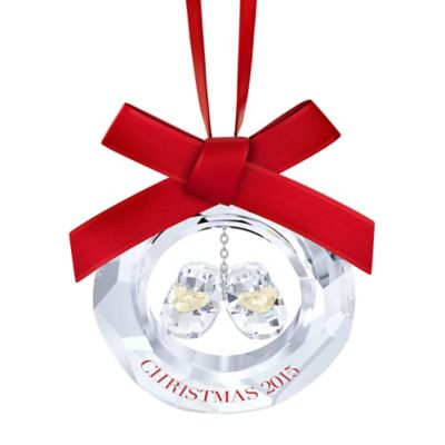Swarovski® Baby's First Christmas 2015 Ornament