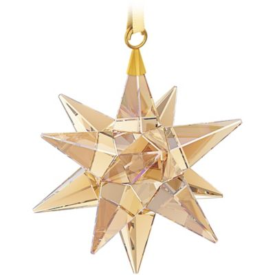 Swarovski® Golden Shadow 3D Star Christmas Ornament
