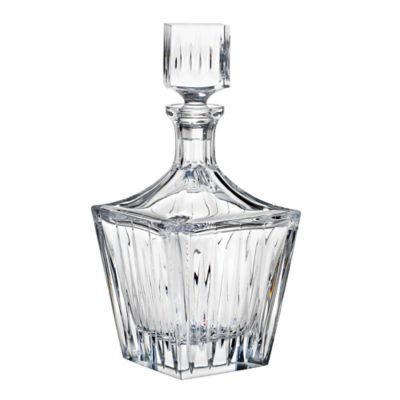 Reed & Barton Square Decanter