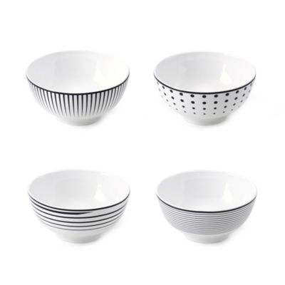 Mikasa® Cheers White Fruit Bowls (Set of 4)