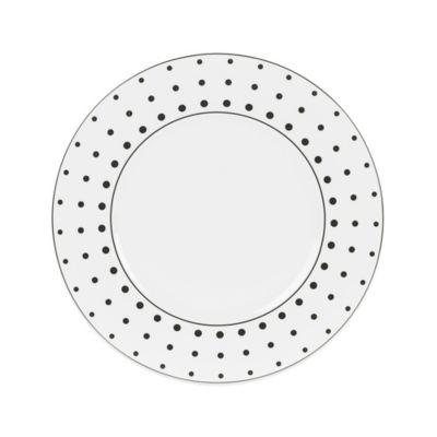 Mikasa® Cheers White Dots Dinner Plate