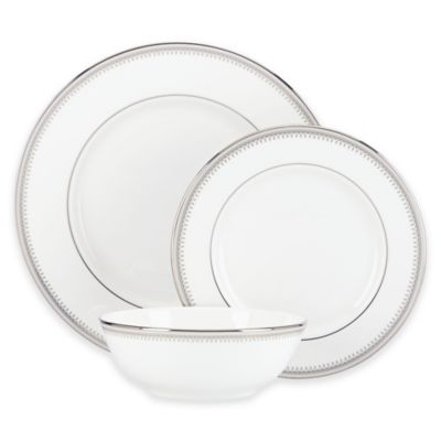 Lenox® Belle Haven 3-Piece Place Setting with All Purpose Bowl