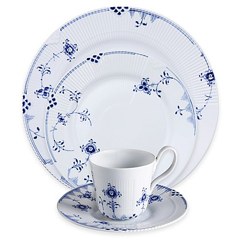 royal copenhagen elements dinnerware collection in blue. Black Bedroom Furniture Sets. Home Design Ideas