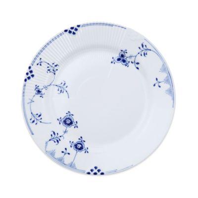 Royal Copenhagen Elements Salad Plate in Blue