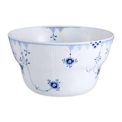 Royal Copenhagen Elements 1.5 qt. Bowl in Blue
