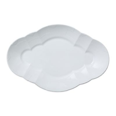Royal Copenhagen Elements Large Oval Platter in White