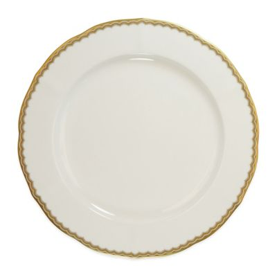 P by Prouna Antique Gold Dinner Plate