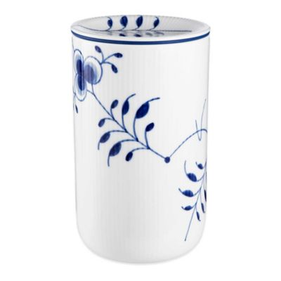 Royal Copenhagen Fluted Mega Large Storage Jar in Blue