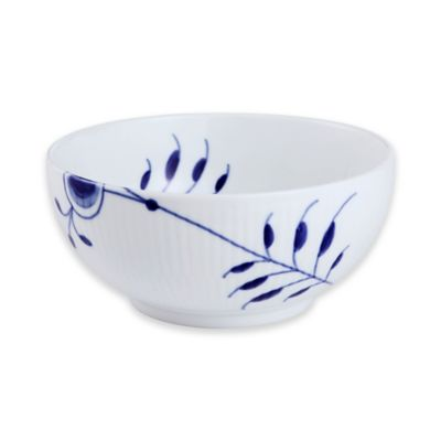 Fluted Mega 6-Inch Bowl in Blue