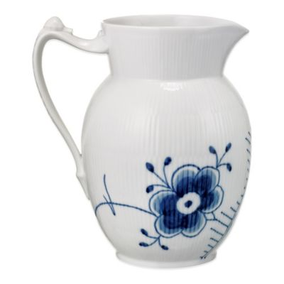 Royal Copenhagen Fluted Mega Jug in Blue