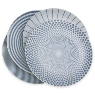 Mikasa® Cheers Salad Plates in Blue (Set of 4)