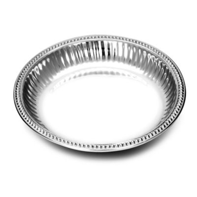 Wilton Armetale® Flutes & Pearls Large Round Dish