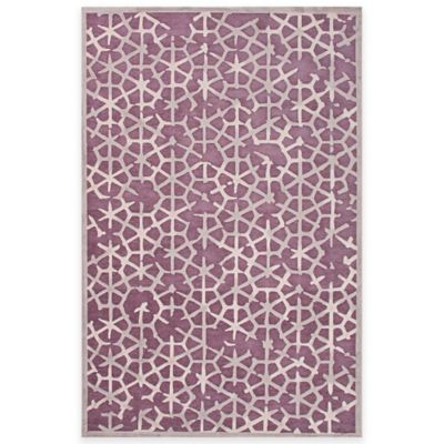 Jaipur Fables Charm 7-Foot 6-Inch x 9-Foot 6-Inch Area Rug in Purple/Grey