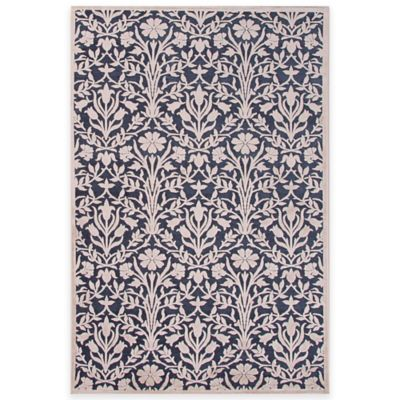 Jaipur Fables Seren 9-Foot x 12-Foot Area Rug in Blue/White
