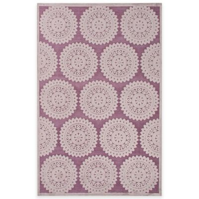 Grey/Purple Area Rugs